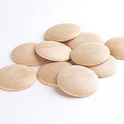 Wooden Discs - Pk10