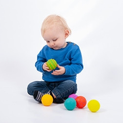 Sensory Texture Balls - Pk6
