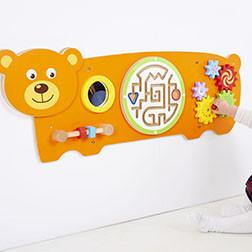 Bear Activity Wall Panel