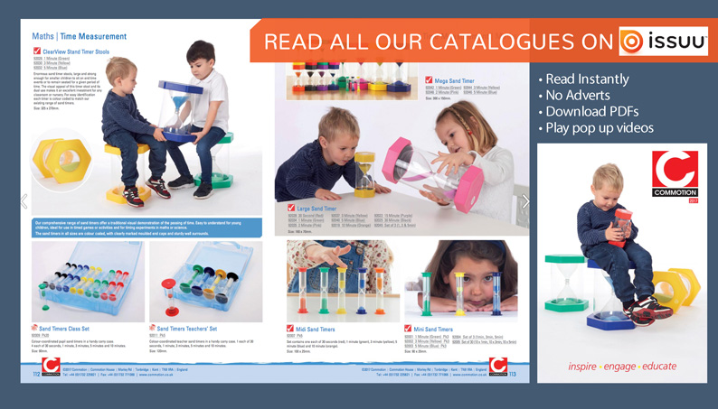 View our catalogues on ISSUU
