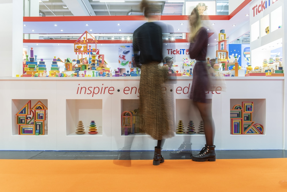 TickiT at the International Toy Fair Nuremberg